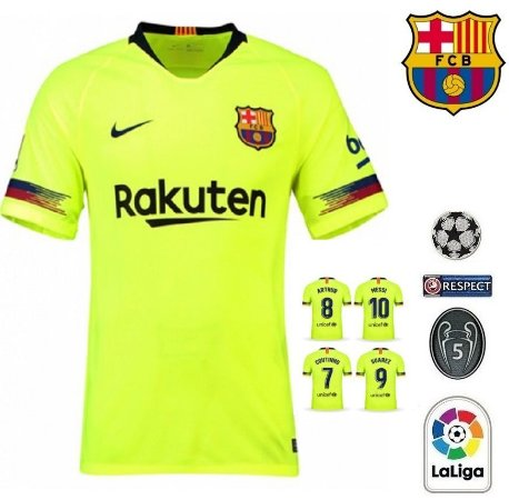 Camisa Barcelona 2018-19 (Away-Uniforme 2) -
