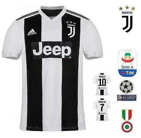 c6846b8d31 Camisa Juventus 2018-19 (Home-Uniforme 1) -