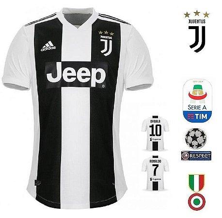 7f34c239b Camisa Juventus 2018-19 (Home-Uniforme 1) -