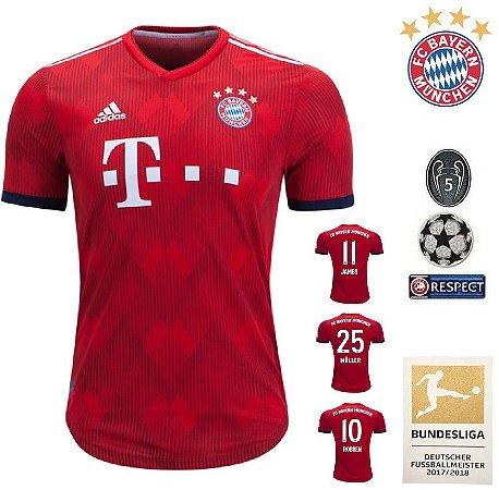 Camisa Bayern Munich 2018-19 (Home-Uniforme 1) -