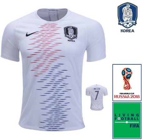 cdf5cb767 Camisa Coréia do Sul 2018-19 (Away-Uniforme 2) -