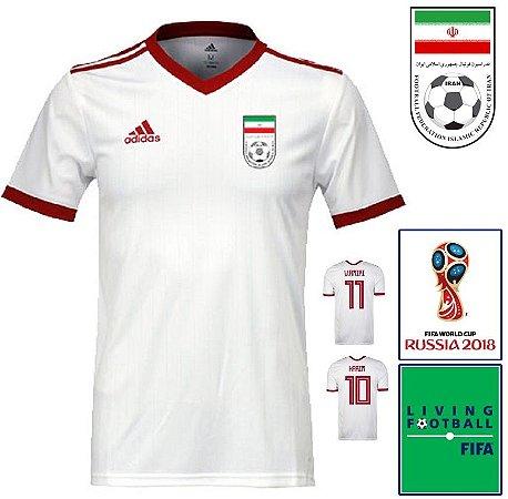 58f4d520b1 Camisa Irã 2018-19 (Home-Uniforme 1) -
