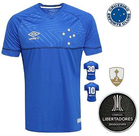 Camisa Cruzeiro 2018-19 (Home-Uniforme 1) -
