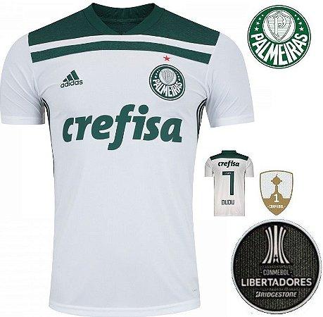 348749bad Camisa Palmeiras 2018-19 (Away-Uniforme 2) -