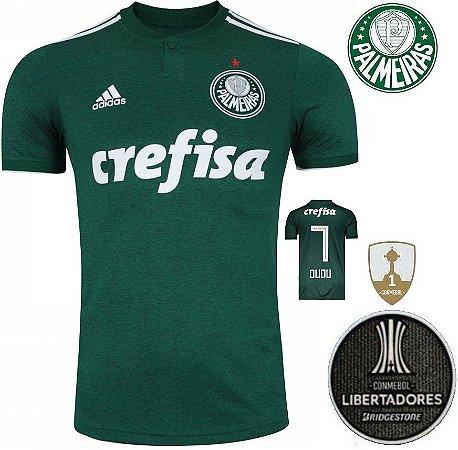 09e50e8649 Camisa Palmeiras 2018-19 (Home-Uniforme 1) -