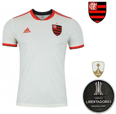 Camisa Flamengo 2018-19 (Away-Uniforme 2) -