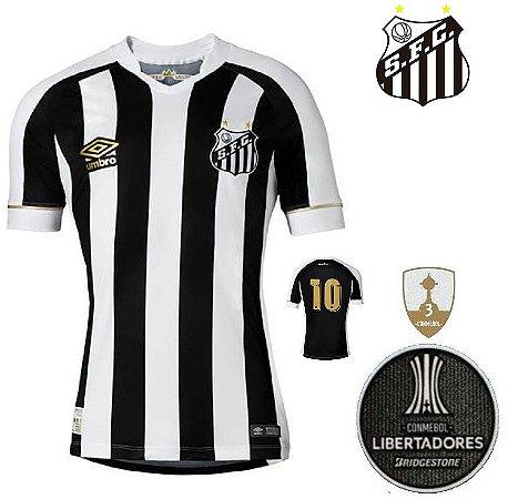 Camisa Santos 2018-19 (Away-Uniforme 2) - torcedor - ACERVO DAS CAMISAS 5d0226fe37333
