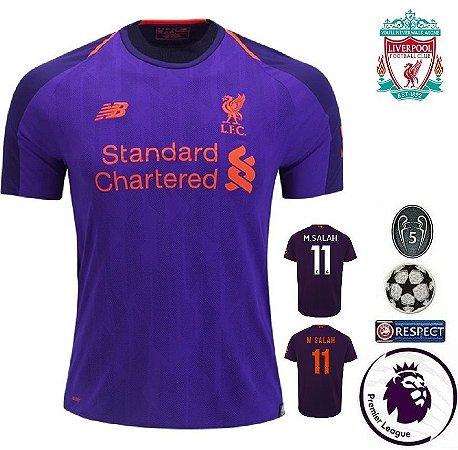 Camisa Liverpool 2018-19 (Away-Uniforme 2) -