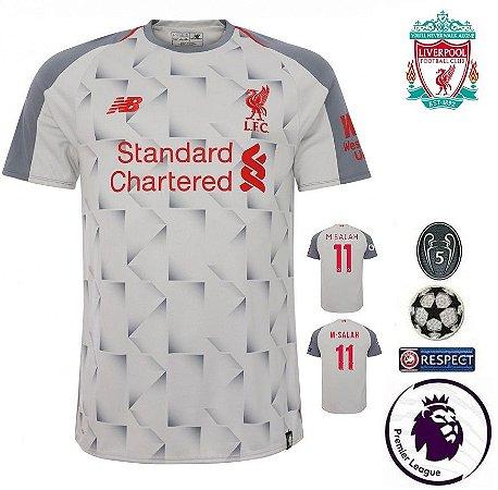55e02b5a0a Camisa Liverpool 2018-19 (Third-Uniforme 3) -