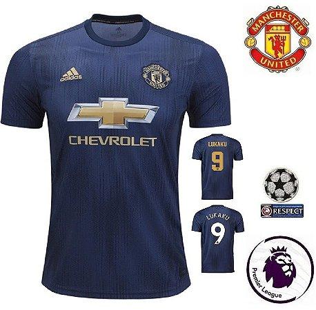 a882b67db4421 Camisa Manchester United 2018-19 (Third-Uniforme 3) -