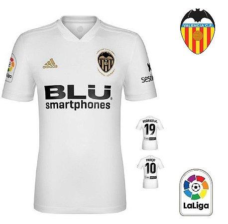 Camisa Valencia 2018-19 (Home-Uniforme 1) -
