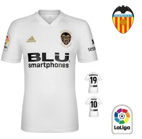 96b0bd5316 Camisa Valencia 2018-19 (Home-Uniforme 1) -