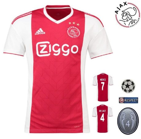Camisa Ajax 2018-19 (Home-Uniforme 1) -