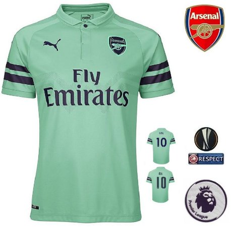 5070f37f95 Camisa Arsenal 2018-19 (Third-Uniforme 3) -