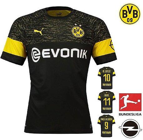 Camisa Borussia Dortmund 2018-19 (Away-Uniforme 2) -