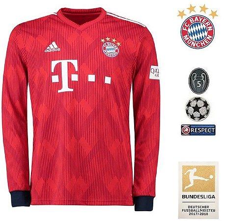 51d2a0a88c Camisa Bayern Munich 2018-19 (Home-Uniforme 1) -