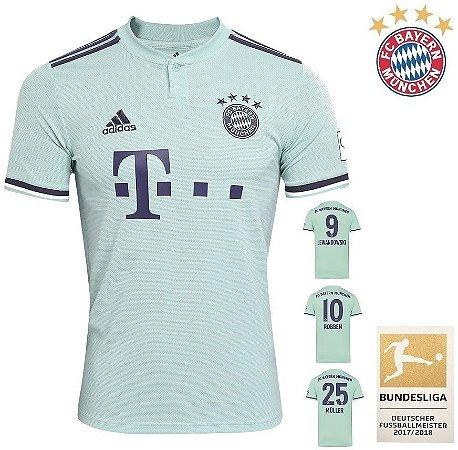 4957fcfada Camisa Bayern Munich 2018-19 (Away-Uniforme 2) -