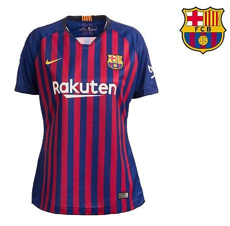 41b20cf86aa81 Camisa Barcelona 2018-19 (Home-Uniforme 1) -