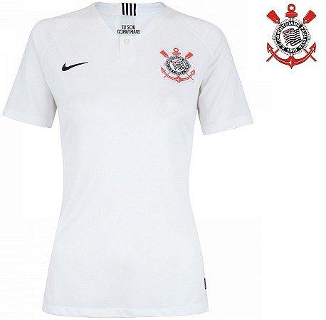 eb323dd80d128 Camisa Corinthians 2018-19 (Home-Uniforme 1) -