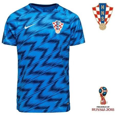 558450fe527b9 Camisa Croácia 2018-19 (Pré-Jogo) - COPA DO MUNDO - ACERVO DAS CAMISAS