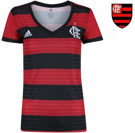 147baf2e97 Camisa Flamengo 2018-19 (Home-Uniforme 1) -