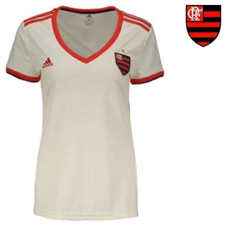 221f6c4c7b Camisa Flamengo 2018-19 (Away-Uniforme 2) -