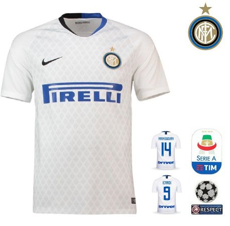 Camisa Inter de Milao 2018-19 (Away-Uniforme 2) -