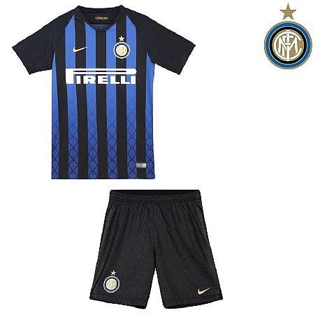Conjunto Infantil (Camisa + Shorts) Inter de Milão 2018-19 (Home ... 6fecda1693928