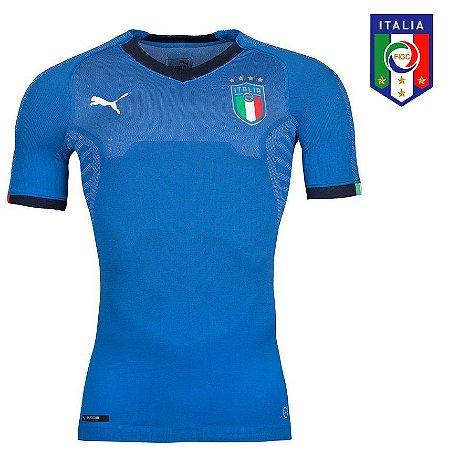 Camisa Itália 2018-19 (Home-Uniforme 1) - evoKNIT