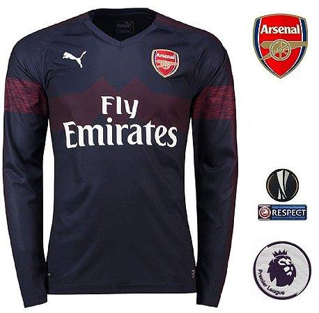 Camisa Arsenal 2018-19 (Away-Uniforme 2) -