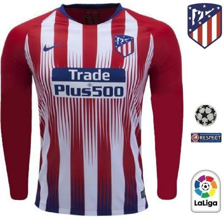 d80beb6ec2 Camisa Atlético de Madrid 2018-19 (Home-Uniforme 1) -