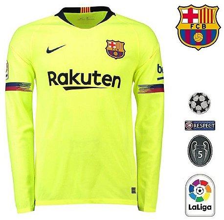 Camisa Barcelona 2018-19 (Away-Uniforme 2) -