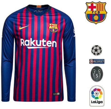 317f70b694923 Camisa Barcelona 2018-19 (Home-Uniforme 1) -