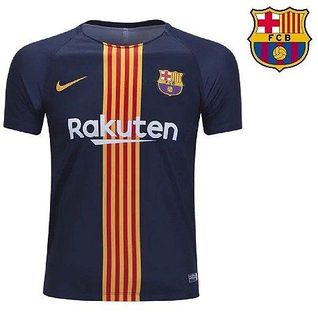 b9ad63bfa Camisa Barcelona 2018-19 (Pré-Jogo) -