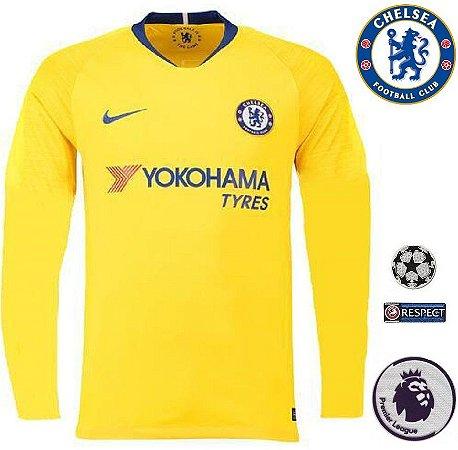 3cc50d0e9c Camisa Chelsea 2018-19 (Away-Uniforme 2) -