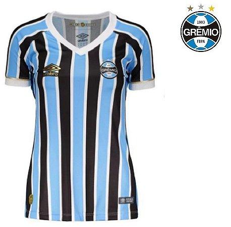 8112b111ab396 Camisa Grêmio 2018-19 (Home-Uniforme 1) -