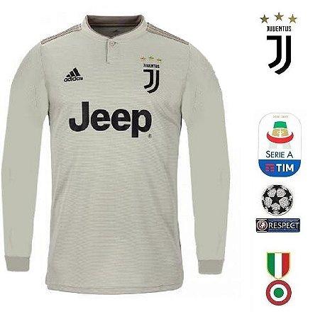 Camisa Juventus 2018-19 (Away-Uniforme 2) -