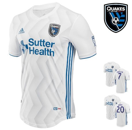 separation shoes dddd3 8e7ce Camisa San José Earthquakes 2018-19 (Away-Uniforme 2) -