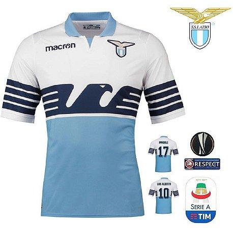 4e854de324 Camisa Lazio 2018-19 (Home-Uniforme 1) - ACERVO DAS CAMISAS