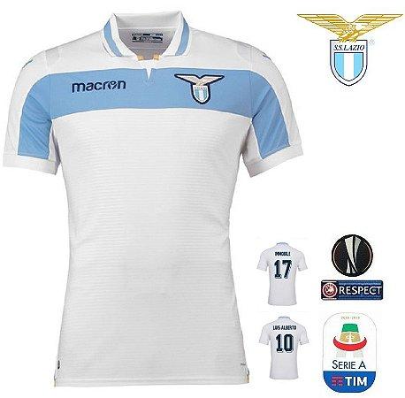 Camisa Lazio 2018-19 (Away-Uniforme 2) - ACERVO DAS CAMISAS 7e913b5a9a628