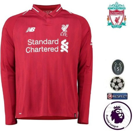 0d449ae04 Camisa Liverpool 2018-19 (Home-Uniforme 1) -