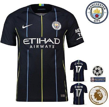 6845114557 Camisa Manchester City 2018-19 (Away-Uniforme 2) -