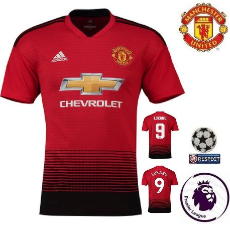 Camisa Manchester United 2018-19 (Home-Uniforme 1) -