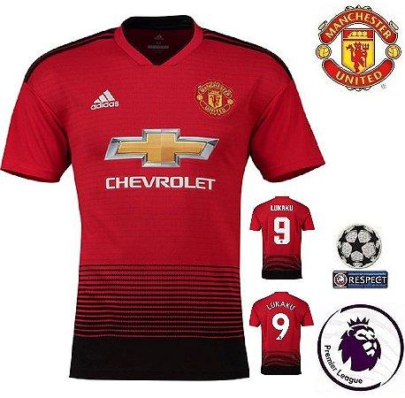 d262bcd5261b2 Camisa Manchester United 2018-19 (Home-Uniforme 1) -
