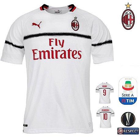 Camisa Milan 2018-19 (Away-Uniforme 2) -