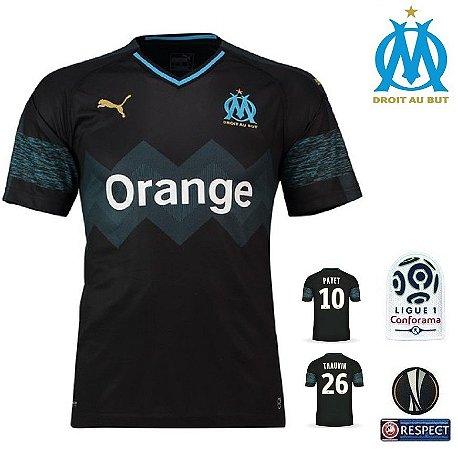 ea768e0eff Camisa Olympique Marseille 2018-19 (Away-Uniforme 2) -