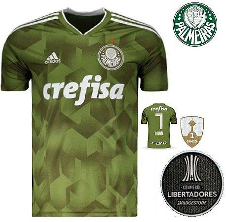 5865500fe7 Camisa Palmeiras 2018-19 (Third-Uniforme 3) -