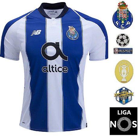 Camisa Porto 2018-19 (Home-Uniforme 1) - ACERVO DAS CAMISAS 43ea36a0fca55