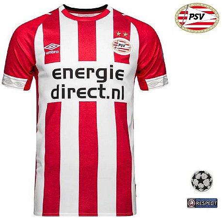 f7b42f4be Camisa PSV Eindhoven 2018-19 (Home-Uniforme 1) - ACERVO DAS CAMISAS