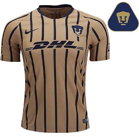 Camisa Pumas UNAM 2018-19 (Away-Uniforme 2) -Stadium - torcedor ... ce51ce83e18a6